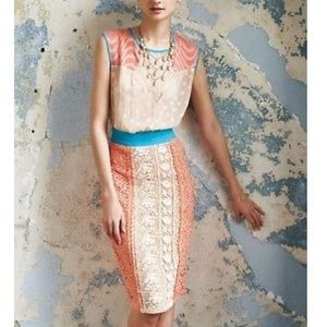 Anthropologie formal dress